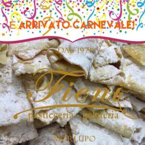 Carnevale 2021 Pasticceria Fieni a Morlupo